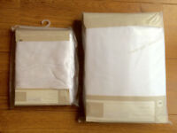 BRAND NEW MAMAS AND PAPAS COT BED SHEETS AND MOSES BASKET SHEETS RRP £44