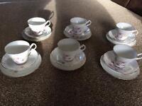 Royal Stuart tea set