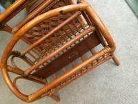 Rattan conservertory furniture