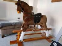 As new champion large rocking horse