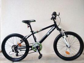 "(3029) 20"" BTWIN RACING BOY 5 BOYS GIRLS KIDS MOUNTAIN HARDTAIL BIKE BICYCLE Age: 6-9, 120-135 cm"
