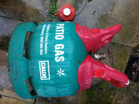 Calor Gas 5kg Patio (propane) gas bottle And Regulator