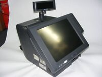 EPSON all in 1 epos till system with built in receipt printer and customer display full setup