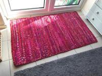 90x150cm Pink rug