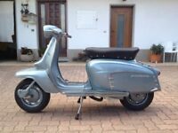 100 % Italian, Milan born, immaculate as new, LAMBRETTA LI 125 Special 1967