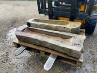 Medium stone trough - ideal garden planter / feature etc
