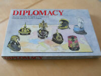 Diplomacy Board Game by Gibsons, Vintage Copy from 1980s