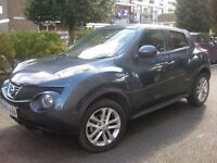 NISSAN JUKE 1.6 ECO !!! 63 REG 2013 !!! SAT NAV REAR CAMERA !!! 5 DOOR JEEP MPV HATCHBACK
