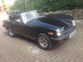 1978 Black MG Midget 1.5