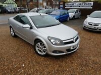 Vauxhall Astra 1.8 i Design Twin Top 2dr, 1 YEAR MOT, GENUINE LOW MILEAGE, HPI CLEAR, FULL LEATHER