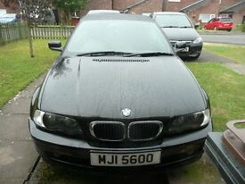 BMW 318ci BLACK AUTOMATIC CONVERTIBLE