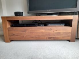 Barker and Stonehouse TV unit and matching lamp table