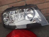 Seat Alhambra 2003 O/S Front Headlamp and Rear Light Unit