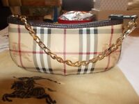 Genuine Burberry Clutch Bag