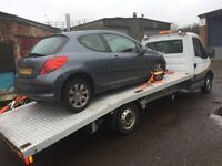 Recovery service breakdowns/ auction pick ups /scrap cars collection ring Dave 07891377817