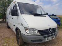 Mercedes-Benz, sprinter 3 berth motorhome / campervan with garage