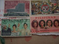 Small Stamp Lot--the Philipines & Singapore