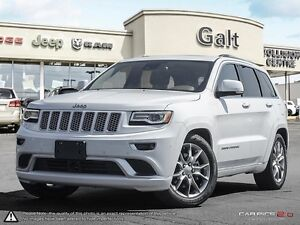 2016 Jeep Grand Cherokee | SUMMIT | 4X4 | DEMO | LEATHER | DVD |
