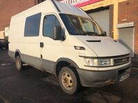 Iveco Daily 2007 2.8 TD 50C13 LWB High Roof 4 door 1 OWNER, 6 SEATER, NO VAT, BARGAIN