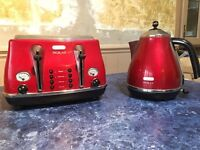 Delounghi Kettle And toaster