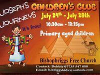 Free kids holiday club