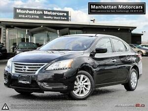 2015 NISSAN SENTRA SV AUTOMATIC - CAMERA|ALLOYS|WARRANTY|PHONE