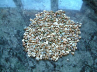 ENGLISH RIVER STONE (WASHED & STERILISED) FOR AQUARIUMS OR SMALL PONDS... Approximately 55lb (25kg)
