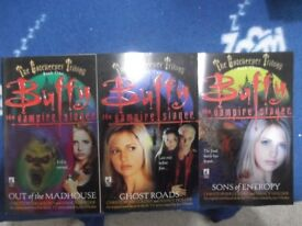 Buffy The Vampire Slayer paperbacks - The Gatekeeper Trilogy Volumes 1 to 3 - As New condition