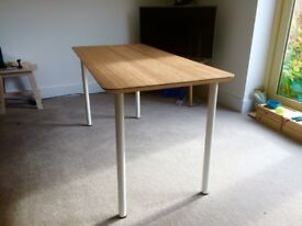 Bamboo IKEA Hilver Desk