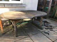 Solid Hardwood Garden Furniture set (8 seater)