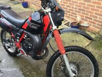 Kawasaki kmx200 ride and restore