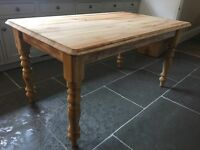 Pine Farmhouse Dining Table Shabby Chic Project