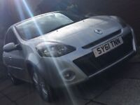 Renault Clio (61 plate), 1.2, 5dr, FSH, 32,000 mls, cruise control, Tom-Tom, rear park assist, vgc