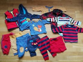 Baby boy clothes 0-3months 70+ items