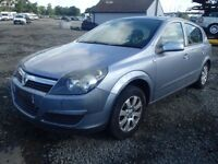 Vauxhall Astra H 1.7 diesel Z163 67000 miles breaking for spares.
