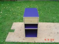 Cabinet. One Drawer and one shelf. Can Deliver. Suitable Office, Home, Garage, Play Room, WorkShop.