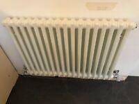 White 2 Column Radiator Great Condition