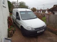 vauxhall combo spare or repairs, mot end in jan,only done 105000