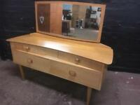 Fabulous quality and condition mid century retro dressing table
