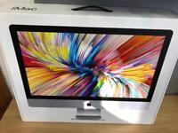 "Apple iMac 2017 27"" 5K Core i5 3.8GHz 8GB RAM 2TB Fusion Drive 1 year warranty"