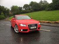 Audi A4 s line 2.0 tdi red (DPF removed/remapped!)