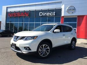 2015 Nissan Rogue SL AWD, NAV, LEATHER IN BEAUTIFUL CONDITION