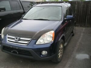 2005 Honda CR-V EX-L RUNS AND DRIVES AS-IS DEAL