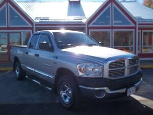2007 Dodge Ram 1500 4X4 HEMI!!! AIR!! CRUISE!! PW PL PM!! ONLY 1