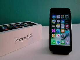 ~ APPLE IPHONE 5S SPACE GREY BOXED ~