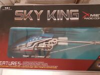 RC HELICOPTER SKY KING GYRO 3.5Ch --- HUGE sized