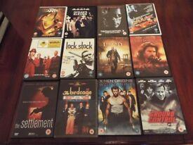 Action DVD bundle - 12 Titles