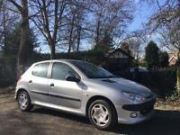 2003 Peugeot 206 1.4 12 Months Mot Rear Parking Sensors