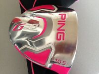 Gents Bubba Pink Driver Ping G20