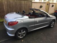 Peugeot 206 convertible for sale